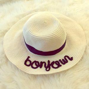 "Janie and Jack ""bonjour"" Sun Hat"